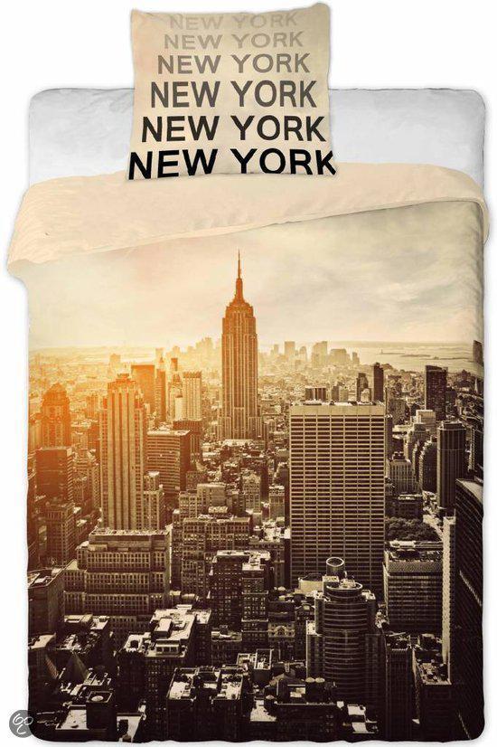 bolcom  New York Dekbedovertrek Manhattan  140 x 200 cm