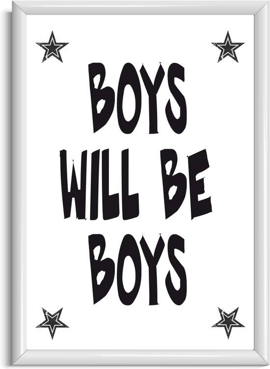 Poster Kinderkamer Zwart Wit