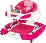 Roze meisjes loopstoel