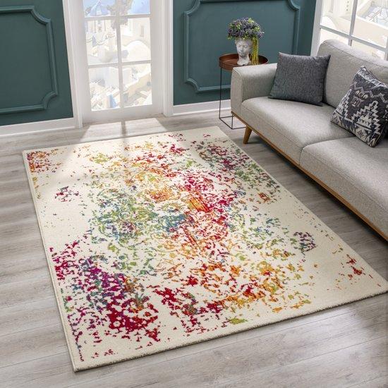 bolcom  Laagpolig vloerkleed tapijt Michelangelo Vintage