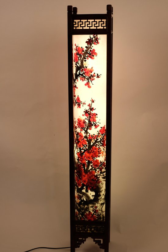 bolcom  Oosterse Lampen Oosterse Vloerlamp Chinese