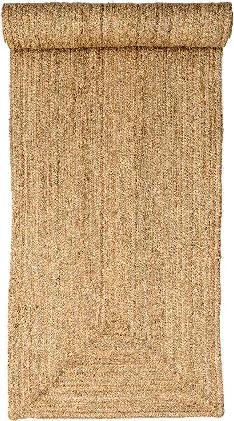 top vloerkleed zeegras naturel with rieten vloerkleed rond