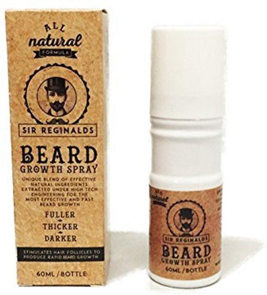 Sir Reginalds Beard Growth Spray