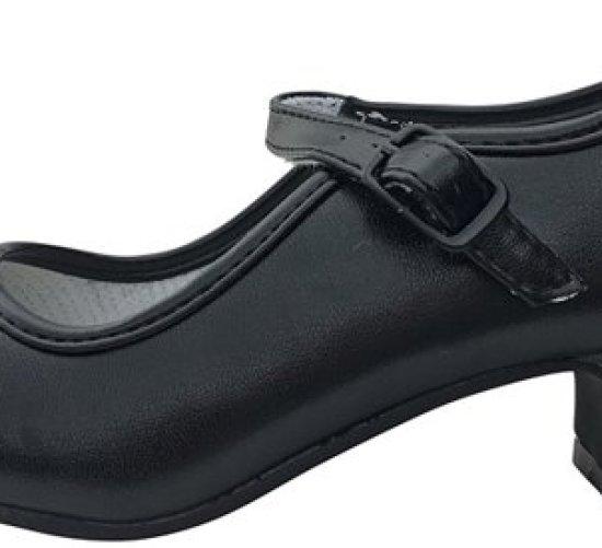 b9d83cfce91 spaanse schoenen zwart flamenco verkleed schoenen maat binnenmaat cm with prinsessen  schoenen kind