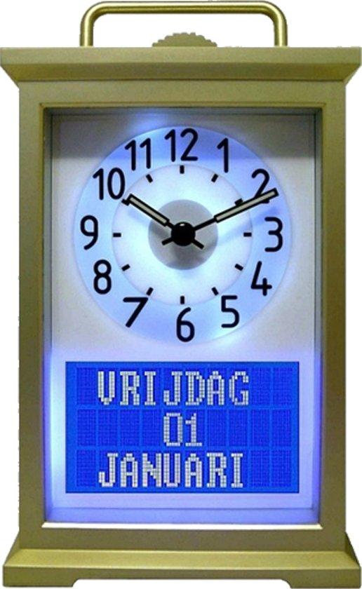 bolcom  Kalender  Senioren  Klok  Kunststof  125x20