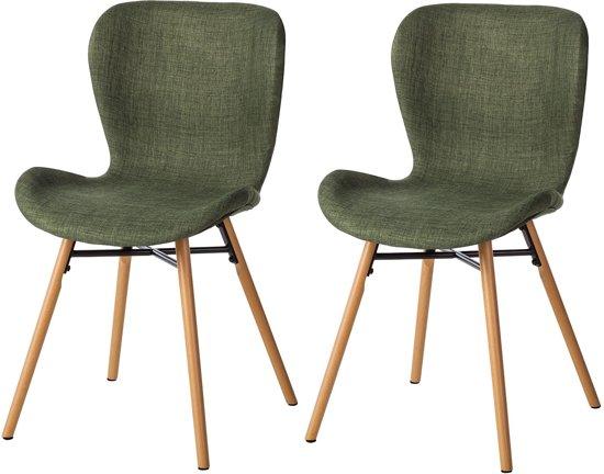 bolcom  Gestoffeerde stoelen Livaras stoel 2delige set