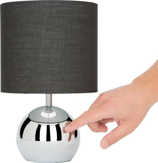 bolcom  Ranex 6000196 Noa  Tafellamp  zwarte kap