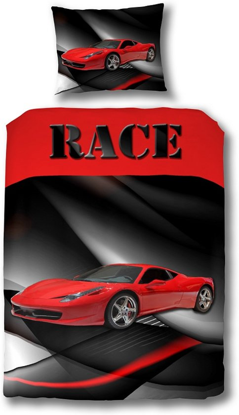 bolcom  Dreamhouse Bedding Race Auto Dekbedovertrek