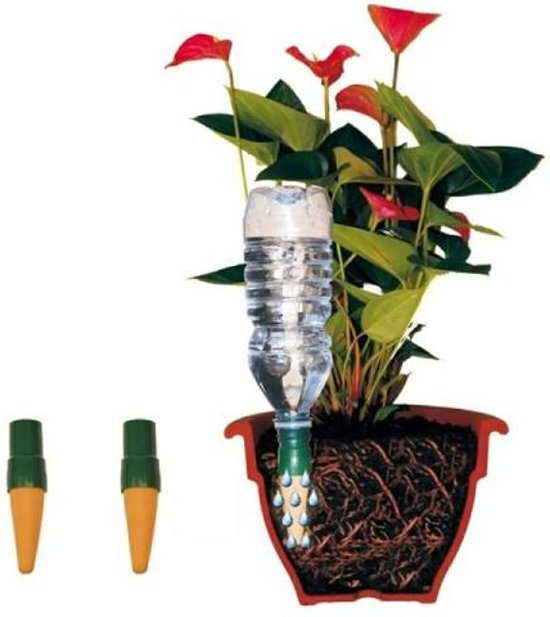 bolcom  Bewateringssysteem voor flessen  set van 6 stuks