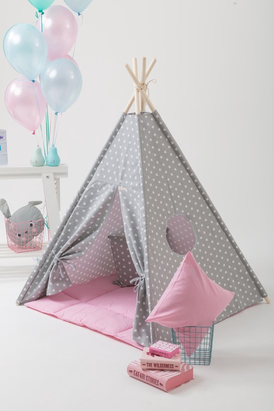 bolcom  Tipi Tent  Speeltent  Tent Wigwam  Wit met