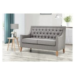 Sofa Gray Color Sleeper Bedding Atoz Furniture Montpellier Collection Two Seater In Light Grey