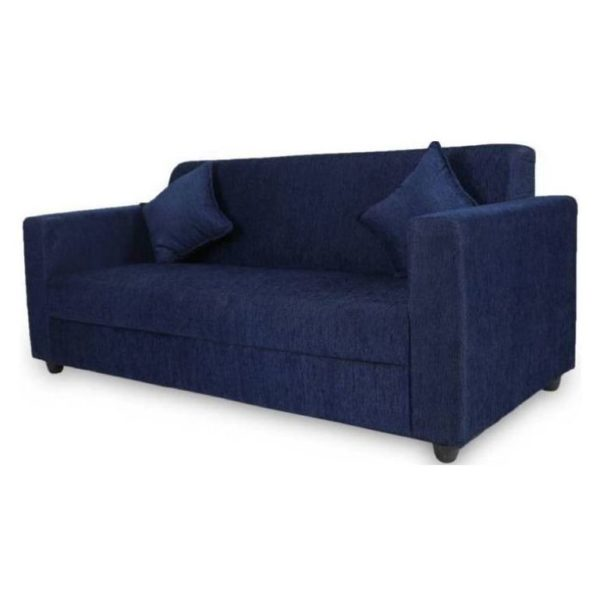 sofa blue color green leather elegant three seater in navy price specifications