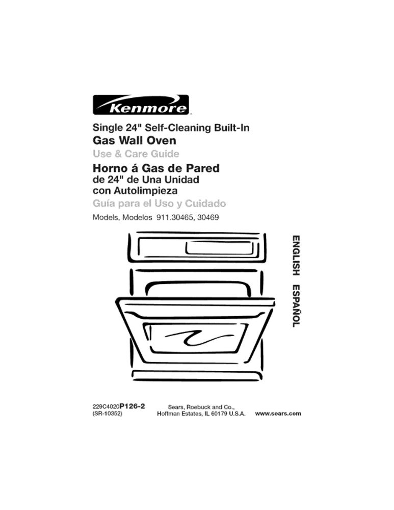 Looking for wall oven owner's manual 31-10298 replacement