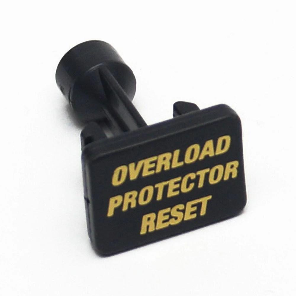 Vacuum Overload Reset Switch Button