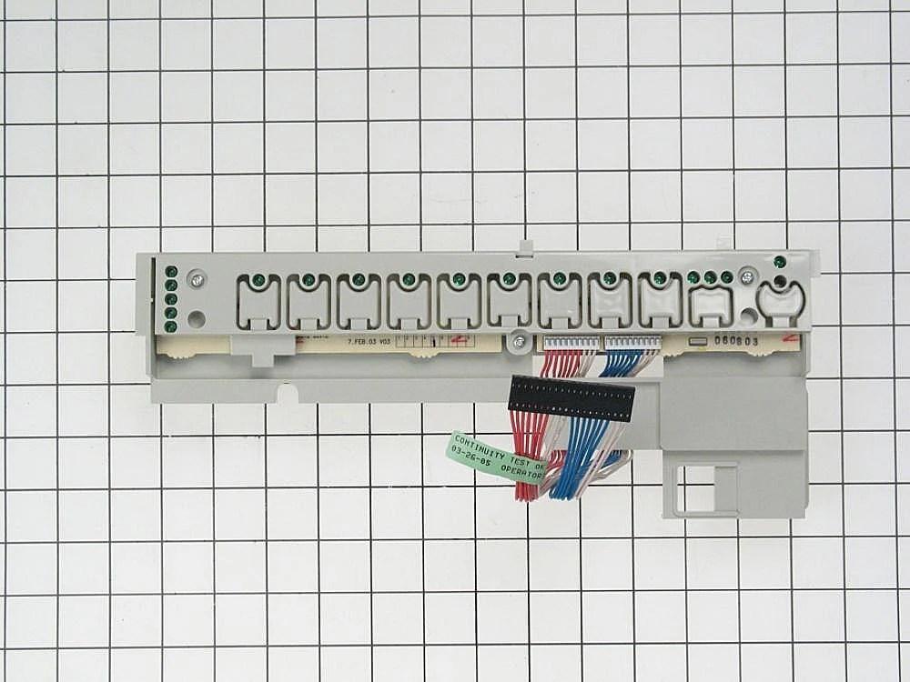 Dishwasher User Interface