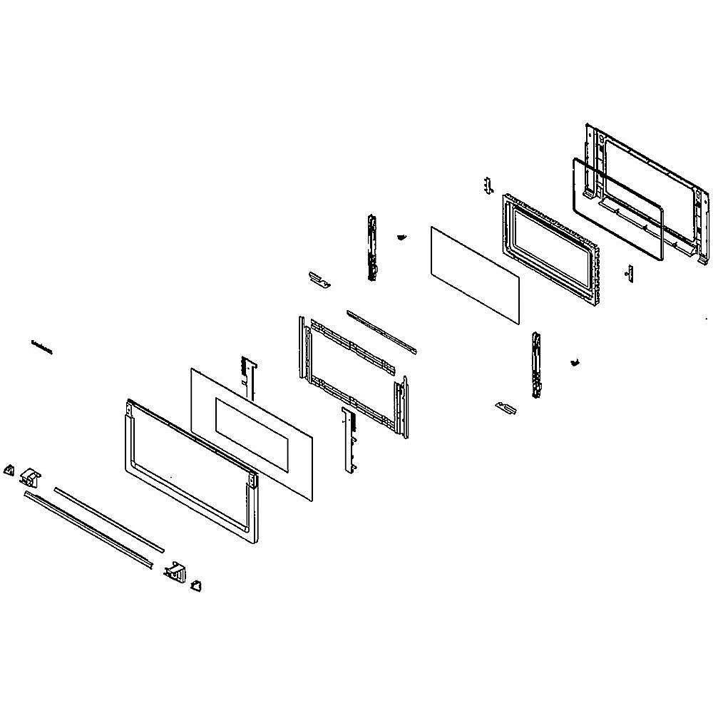 Samsung NQ70M7770DG/AA-00 wall oven/microwave combo manual