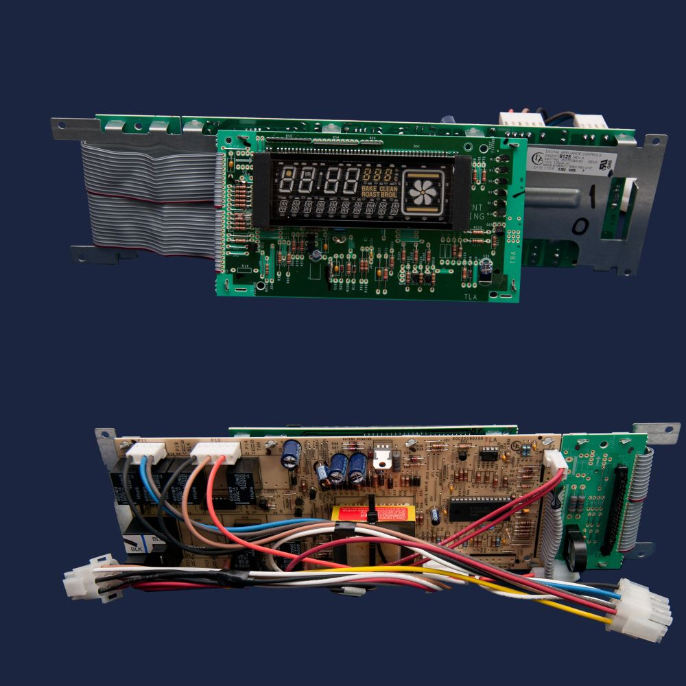 hight resolution of range oven control board and wire harness