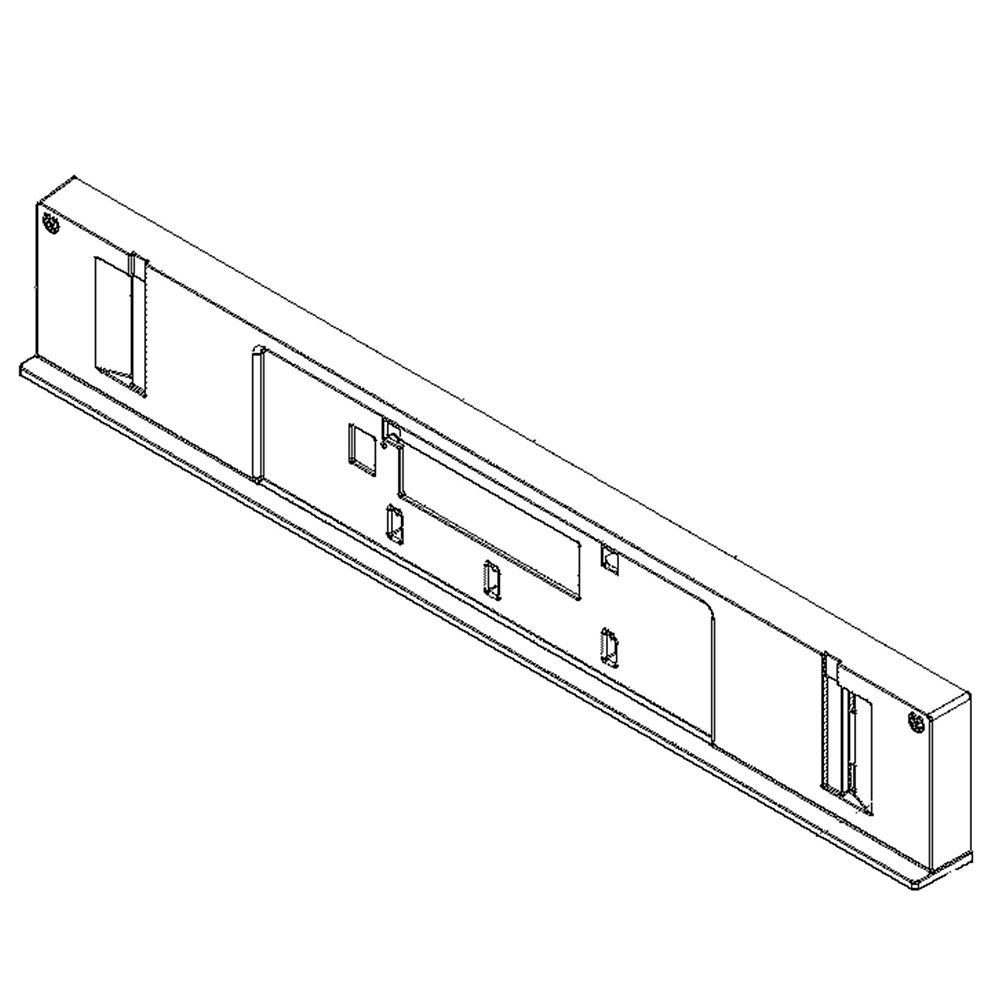 Wall Oven Control Panel Support