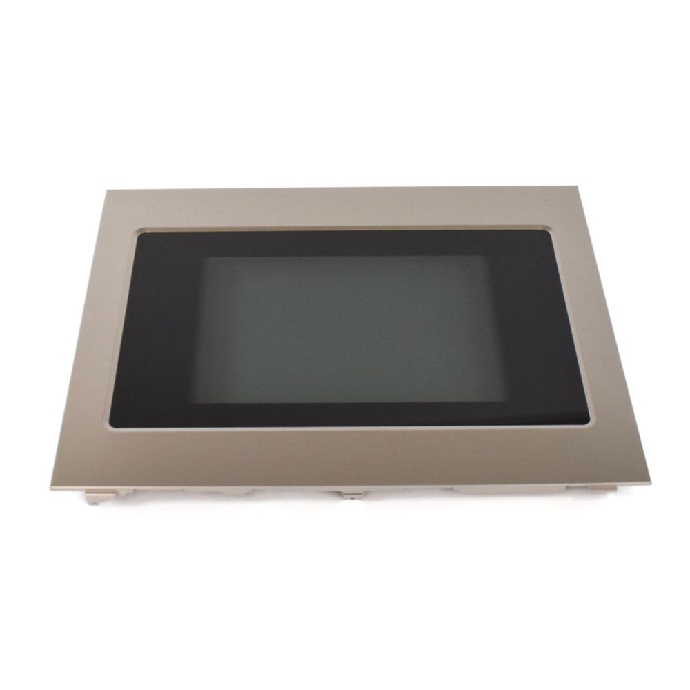 Wall Oven Door Outer Panel Assembly (Black and Stainless)