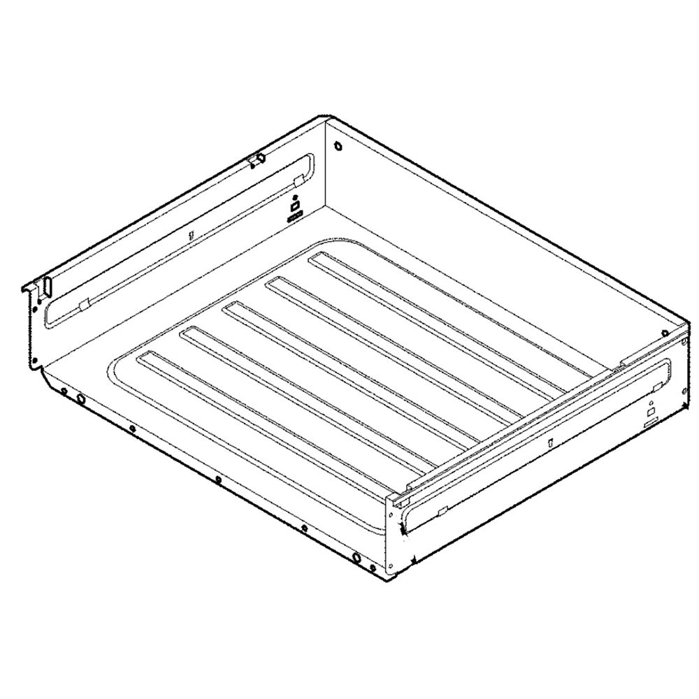 Range Storage Drawer Assembly