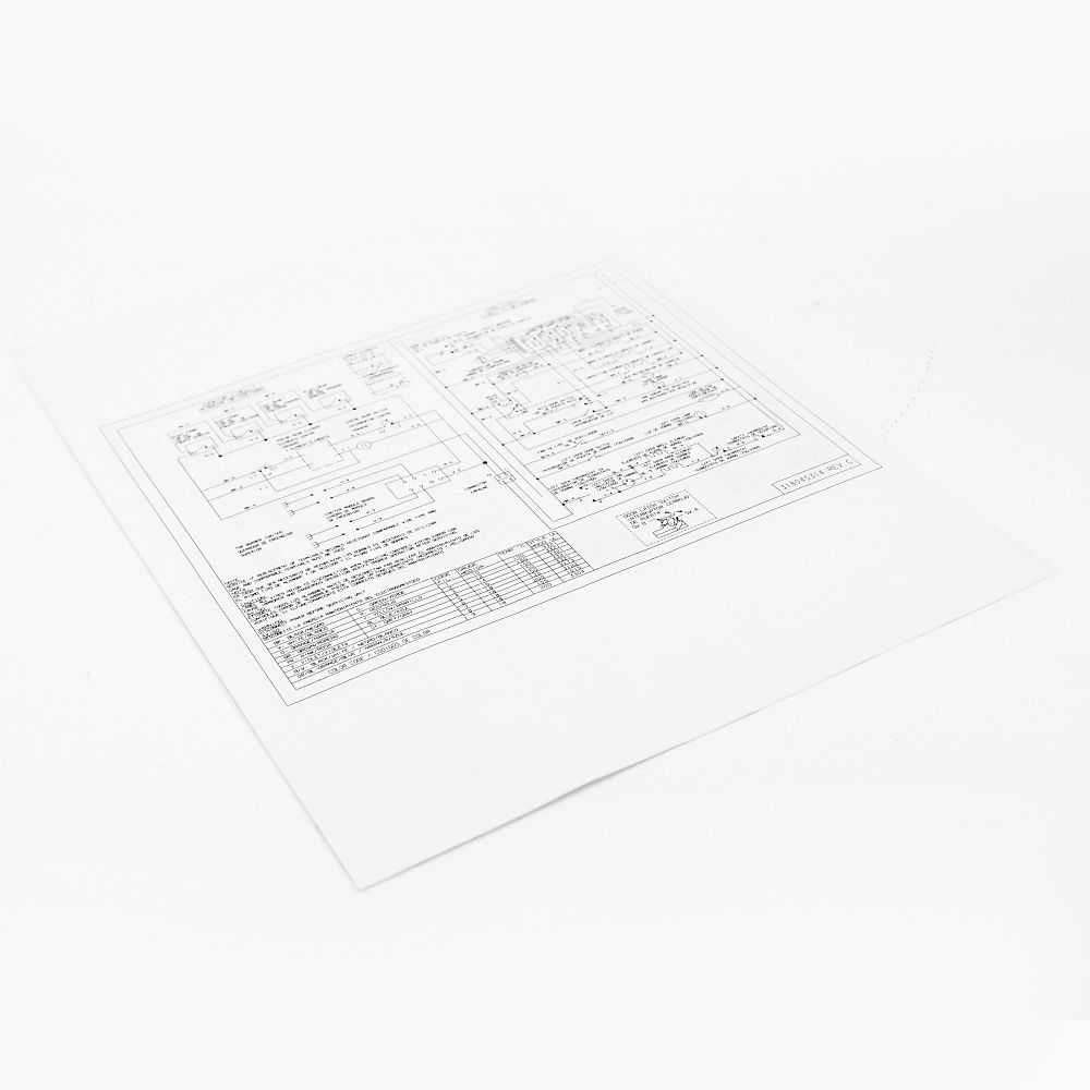 Looking for range wiring diagram 318045314 replacement or