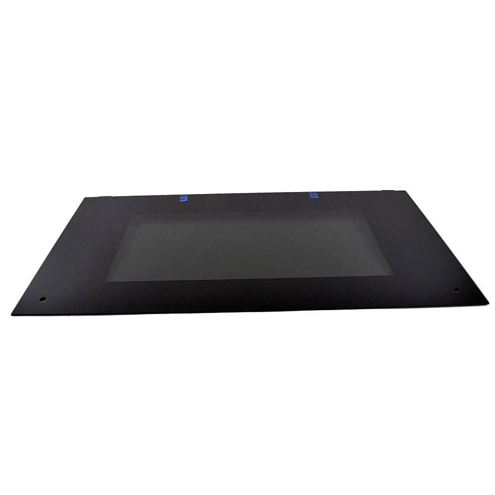 Range Oven Door Outer Panel Assembly (Black)