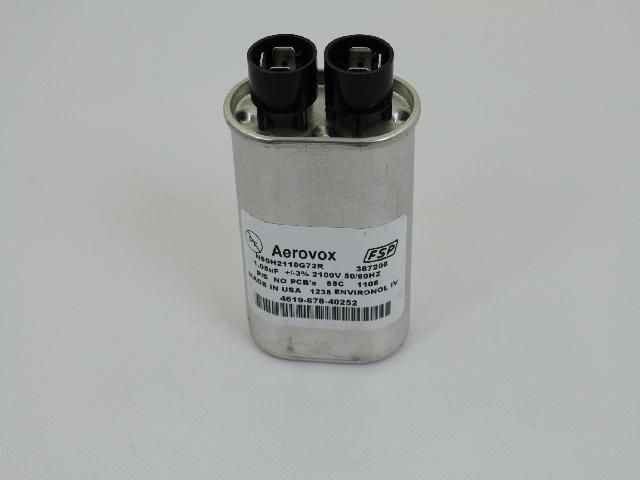 Microwave High-Voltage Capacitor