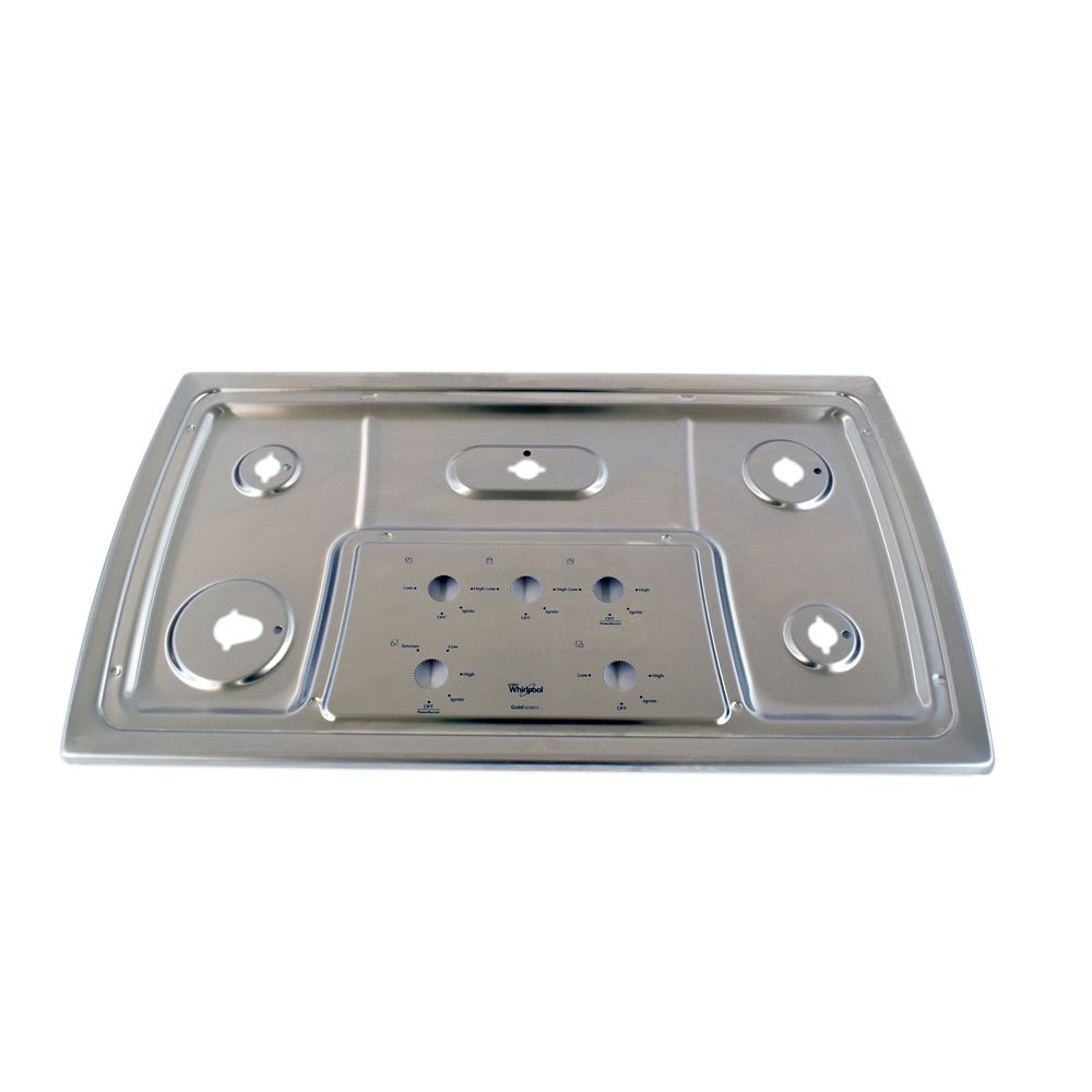 Cooktop Main Top Assembly (Stainless)