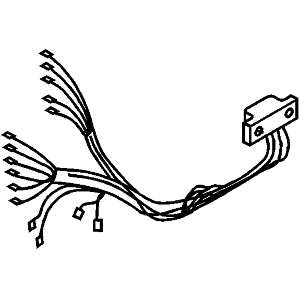 Dryer Wire Harness 8299820