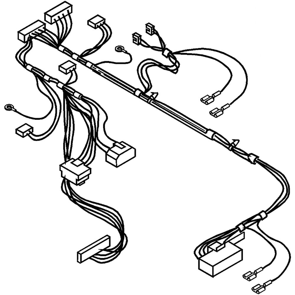 Washer Wire Harness W10044160