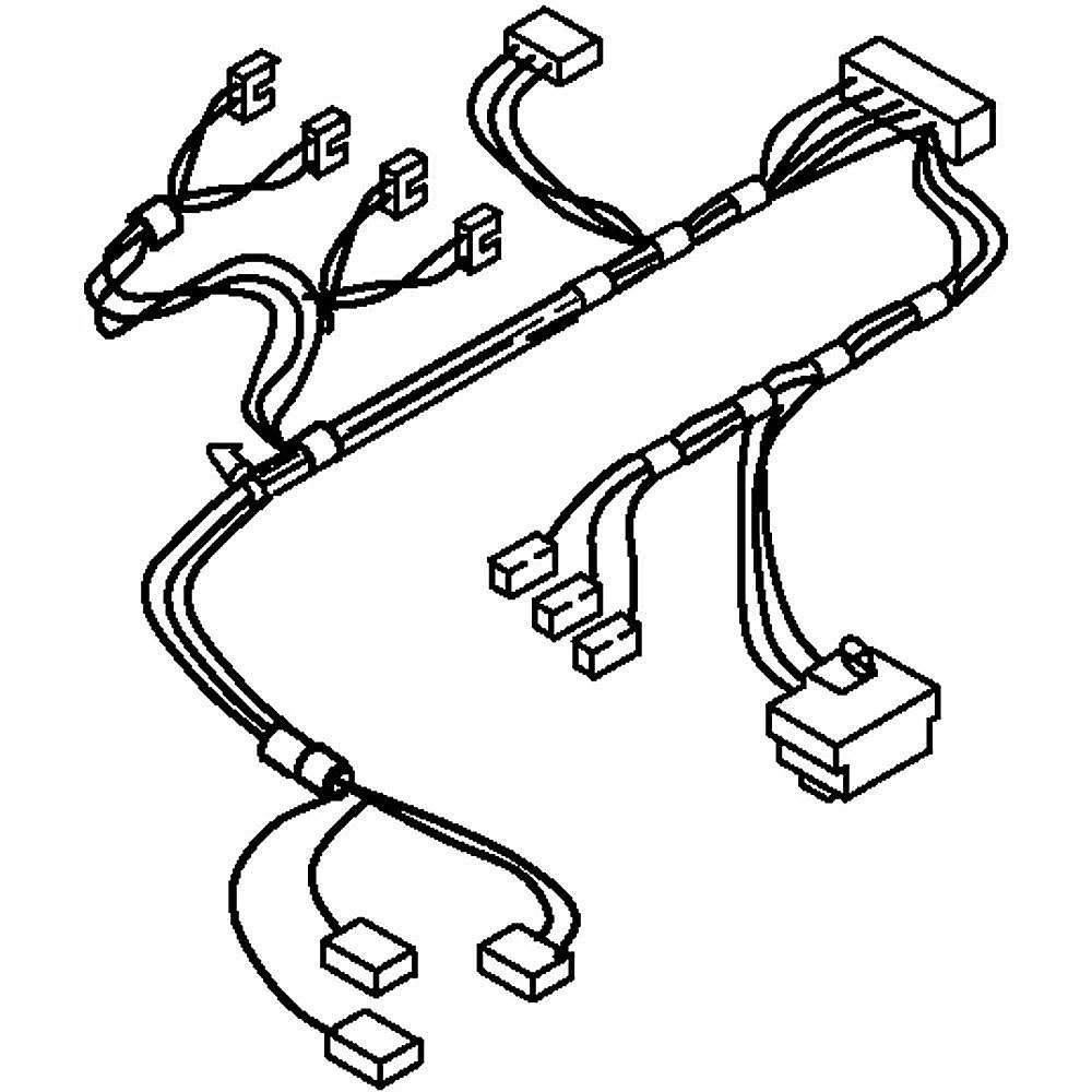 Washer Wire Harness W10167278