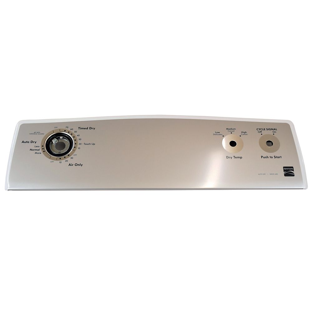 Dryer Control Console