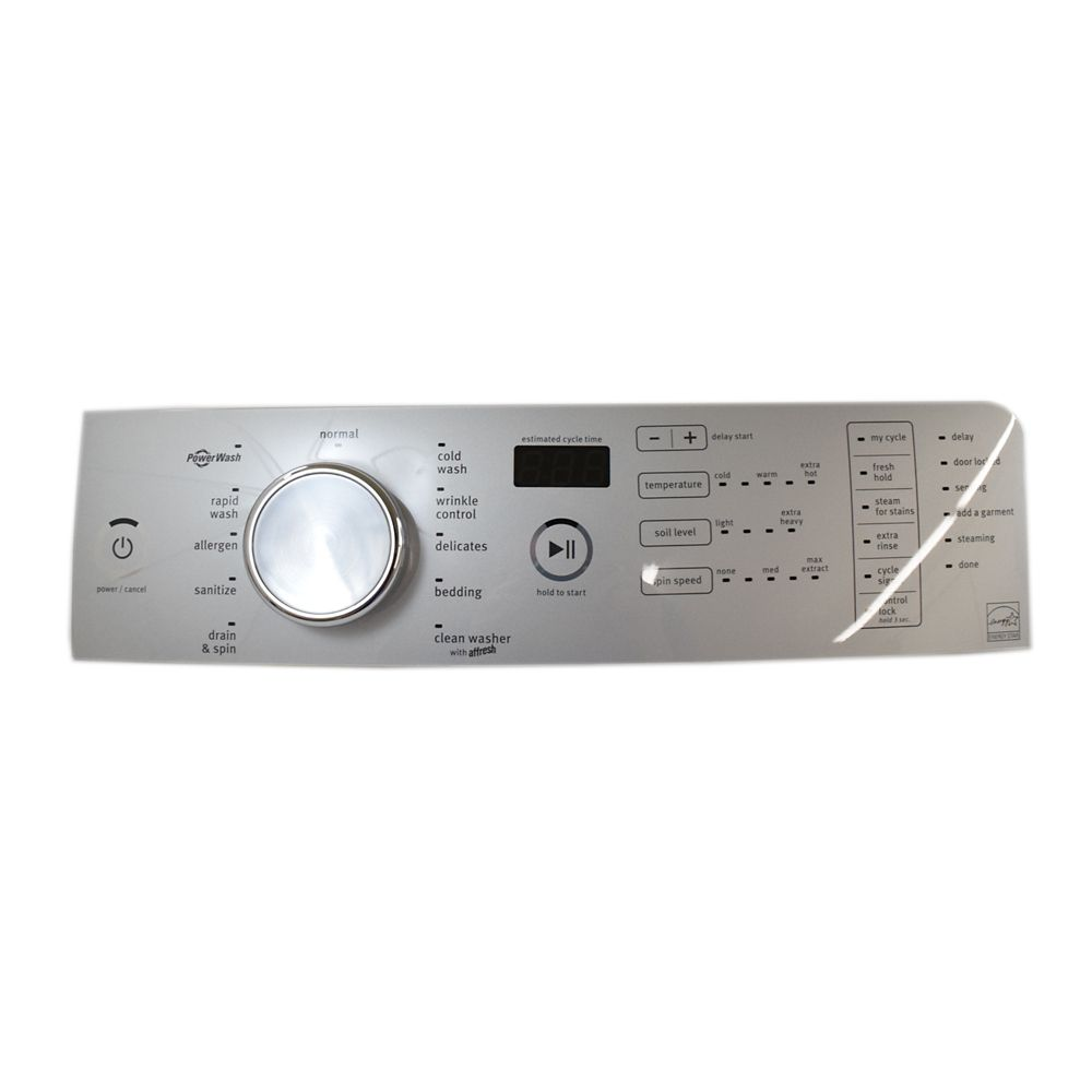 Washer User Interface