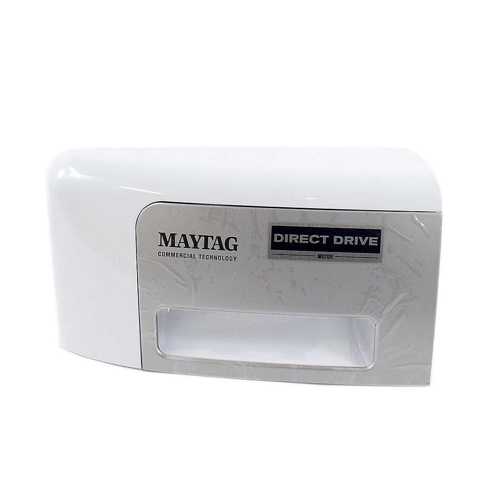 Washer Dispenser Drawer Handle (White)