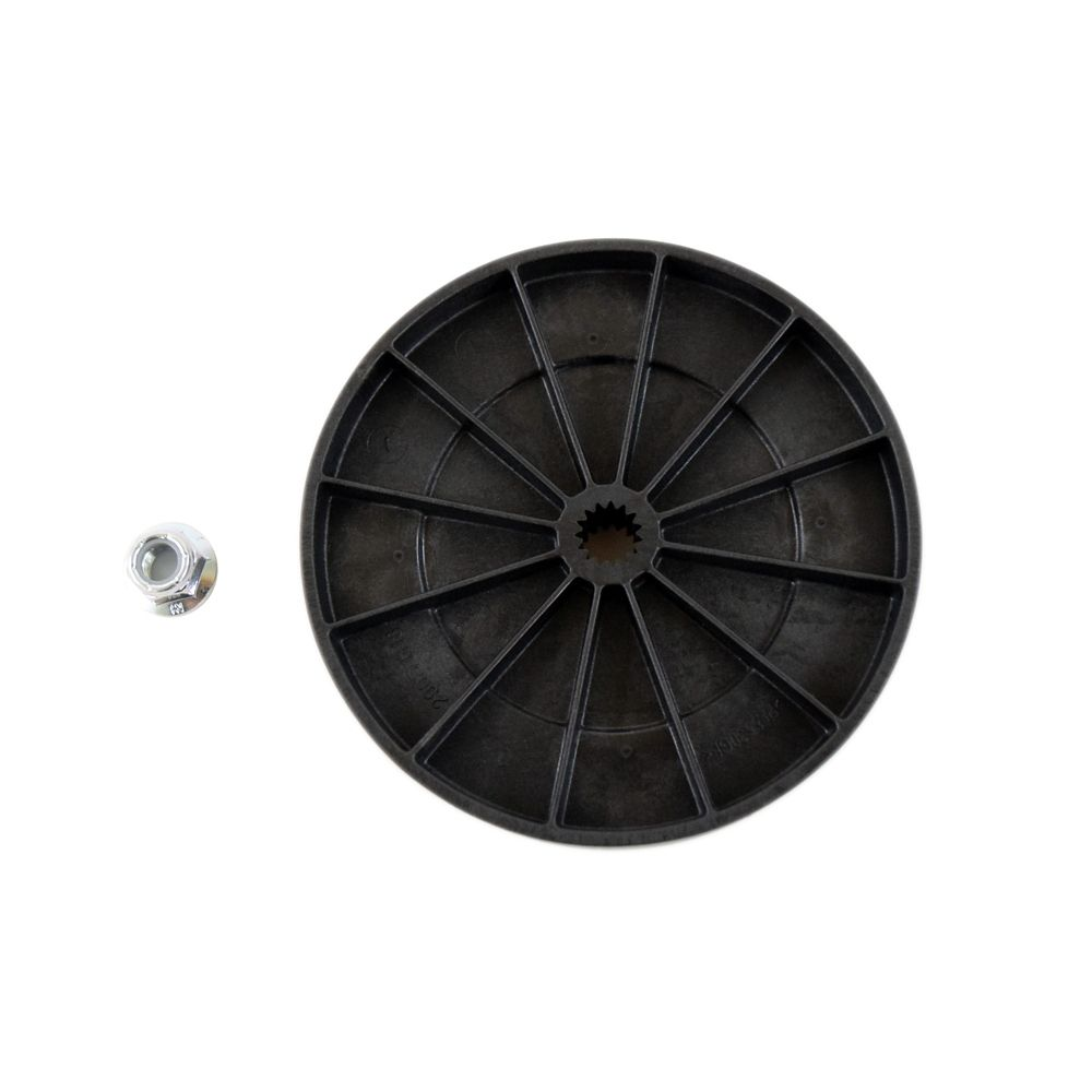 TRANSMISSION PULLEY AND NUT