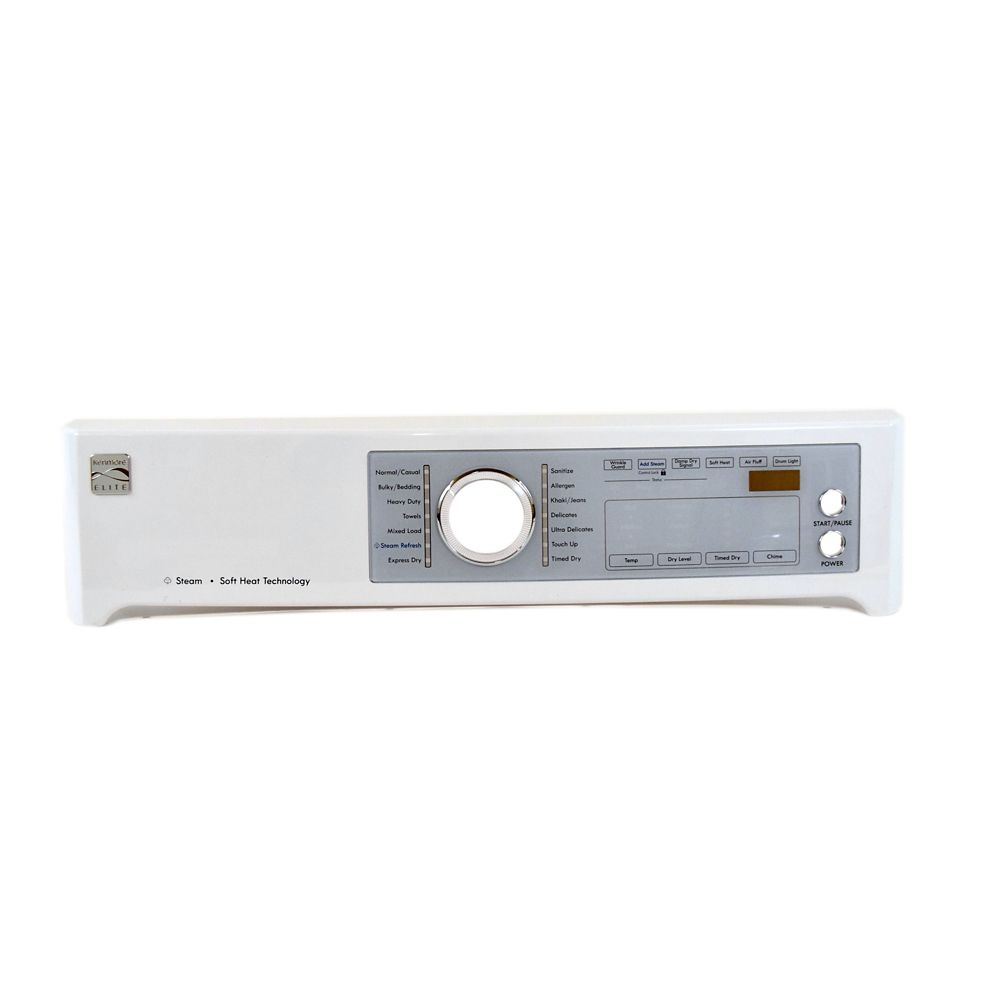 Dryer Control Panel Assembly (White)