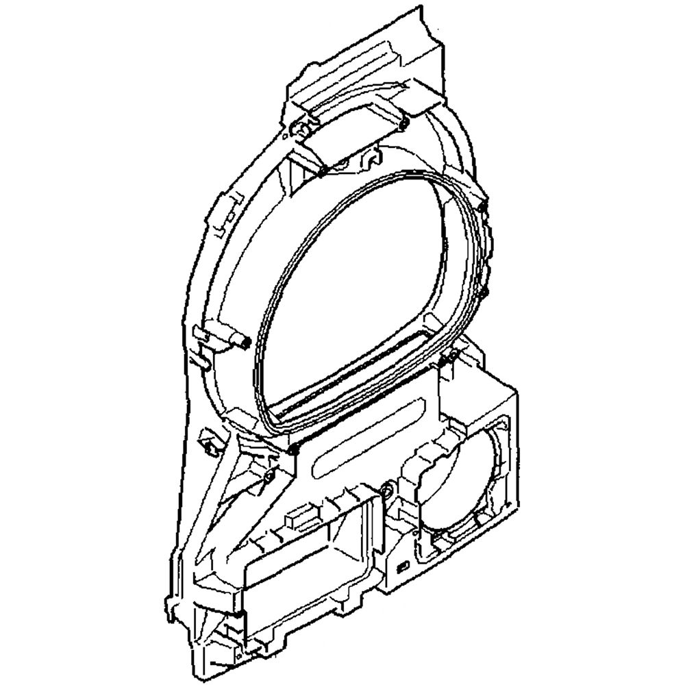 Dryer Front Bulkhead 714418