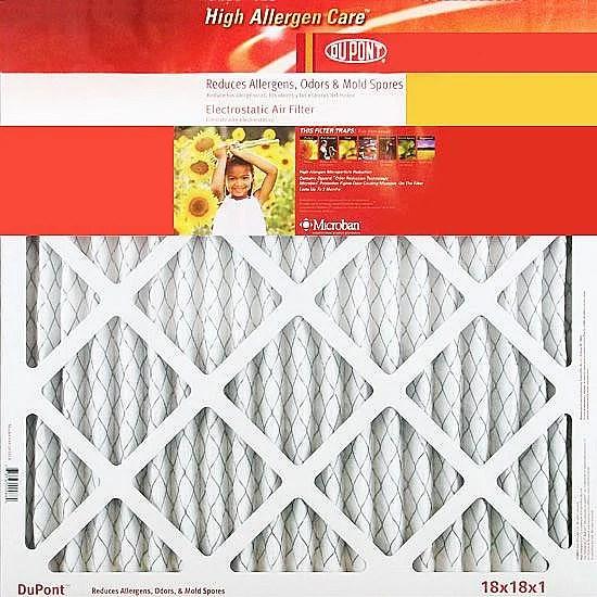 DuPont High-Allergen Air Filter 12 x 30 x 1-in 4-pack