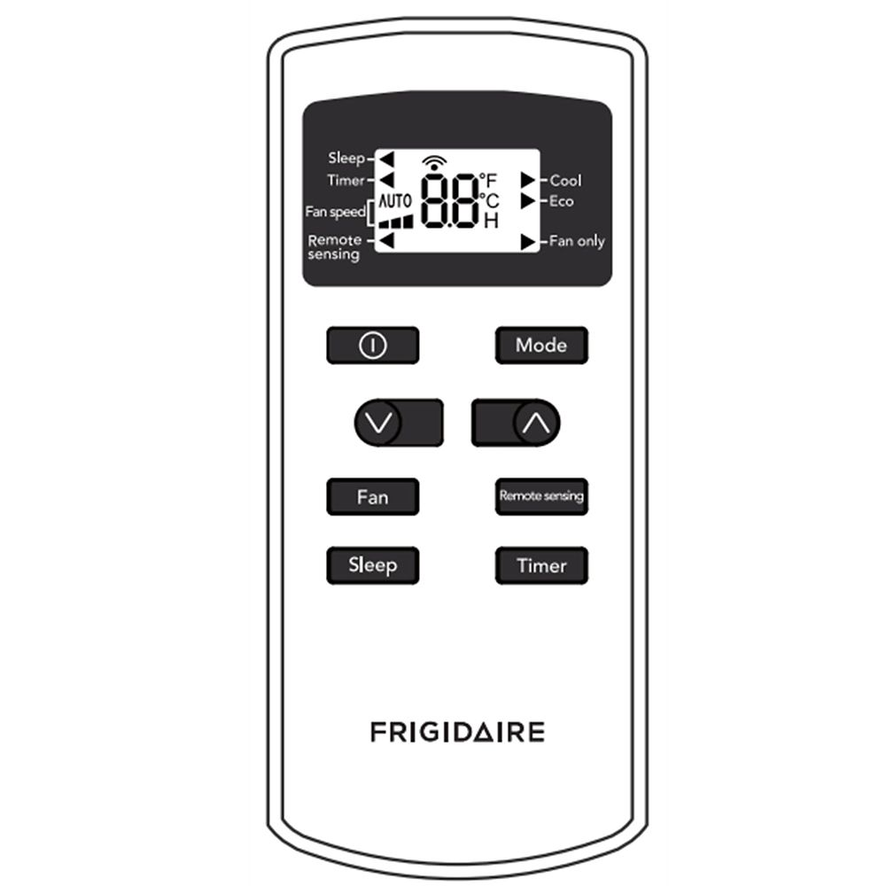 Frigidaire 5304515943 Room Air Conditioner Remote Control