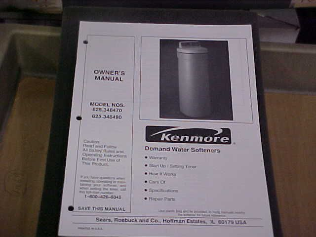 Water Softener Diagram And Parts List For Kenmore Watersoftenerparts