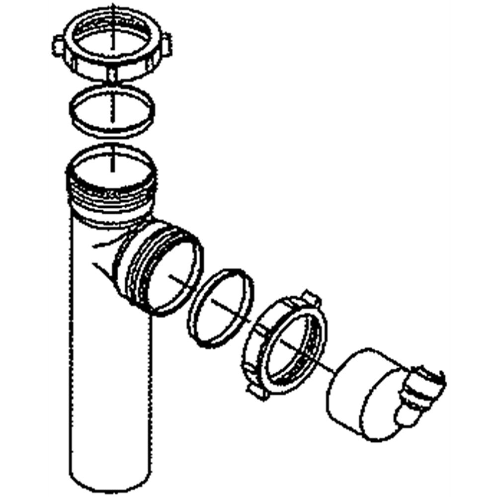 Reverse Osmosis System Drain Adapter 7208489