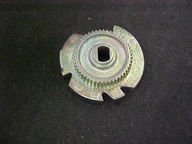 Water Softener Cam and Gear