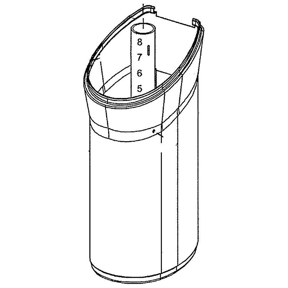 Water Softener Salt Storage Tank