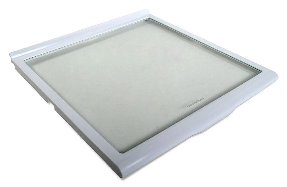 Refrigerator Slide-Out Glass Shelf