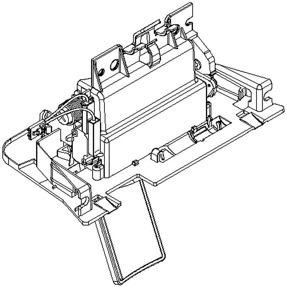 Refrigerator Separator Assembly W10616146