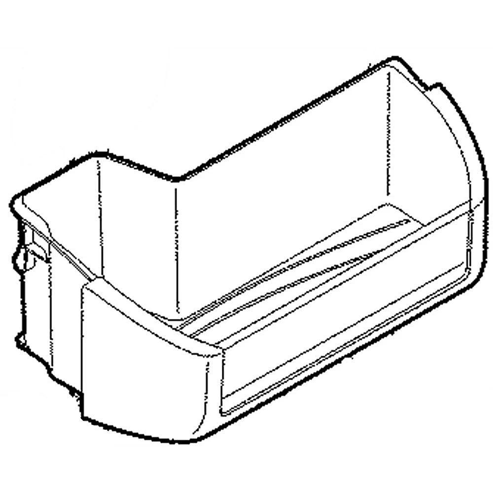 Refrigerator 2 Liter Door Bin 242071303