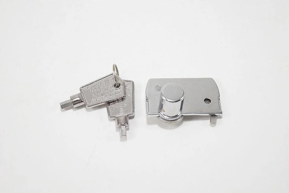 Freezer Lid Lock and Key Set