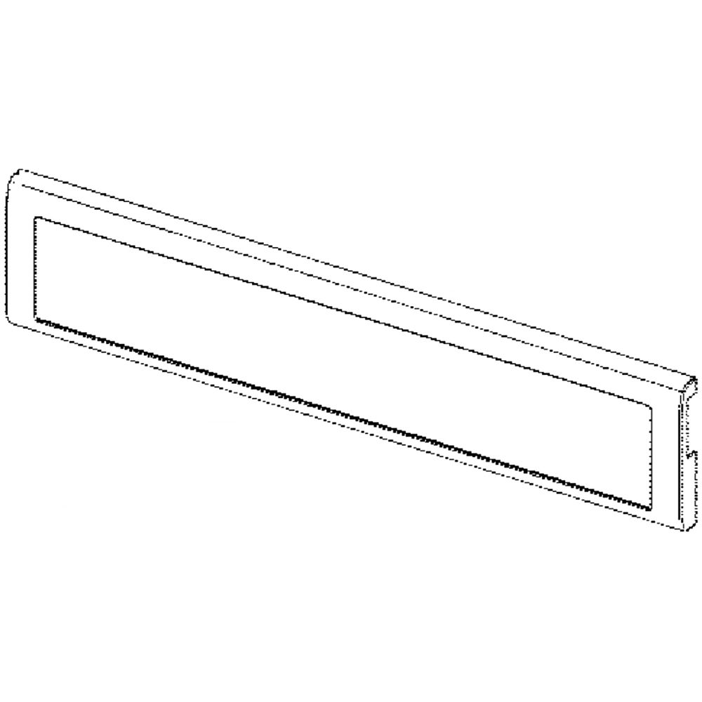 Looking for refrigerator freezer tray front panel