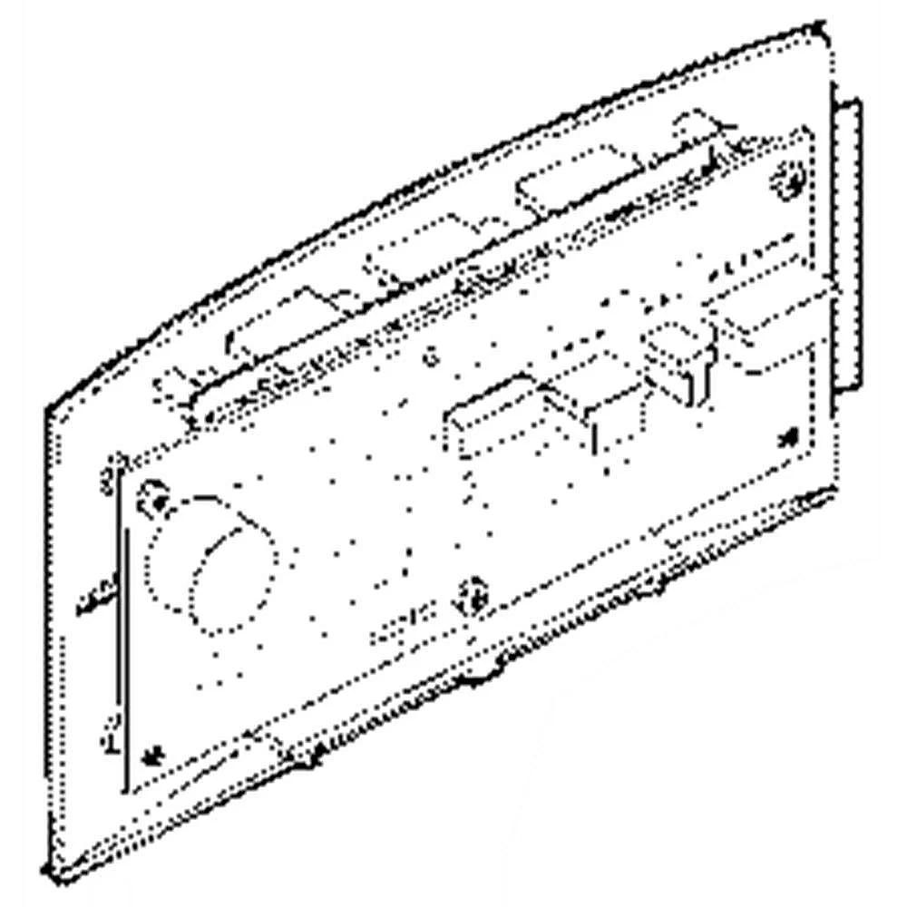 Refrigerator Interface Dispenser Assembly WR55X20689 parts
