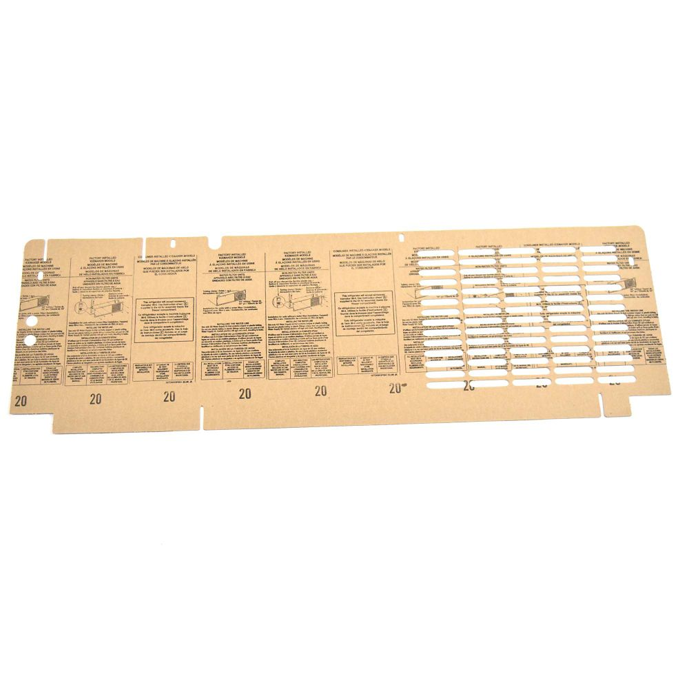 Refrigerator Access Cover Assembly